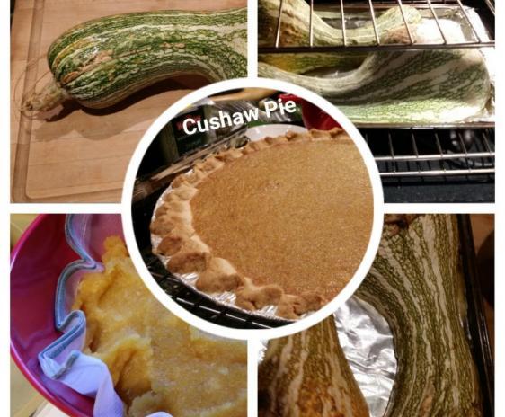 Cushaw Pie