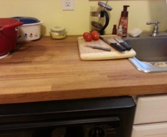 New counter-top.